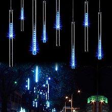 KINGCOO LED Meteor Shower Solar Lights Garden,