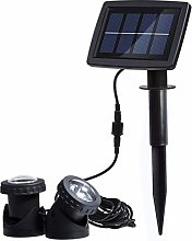 KINGCOO Solar Projector Pond Lights, Super Bright