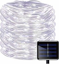 KINGCOO Solar Rope Lights, 23ft 50LED Waterproof