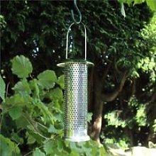 Kingfisher Stainless Steel Niger Seed Feeder