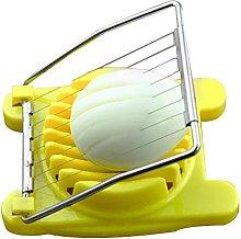 Kingnew Egg Slicer Cutter Stainless Steel Easy