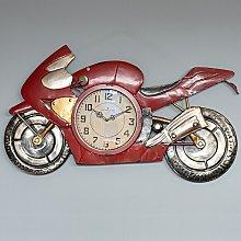 Kingon Oversized Motorbike Antique Wall Clock
