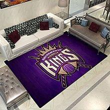 Kings Logo Carpets for Living Room Decor