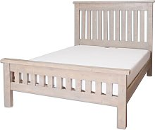 Kingsize Bed Frame Brambly Cottage