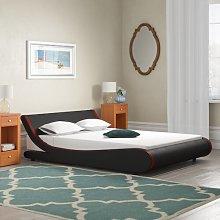 Kingsize Upholstered Bed Frame Mercury Row