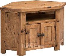 Kingsley Solid Oak Corner TV Cabinet
