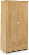 Kingsley Wardrobe - Waxed Pine