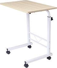 Kingso - Adjustable Height Rolling Laptop Desk