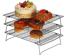 Kingso - Cooling Rack Non-stick Grill Baking Tools