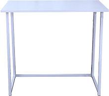 Kingso - Folding Computer Desk White