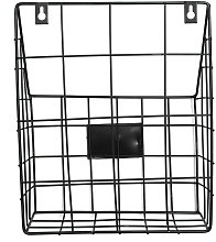 Kingso - Modern Wire Magazine Journal Basket