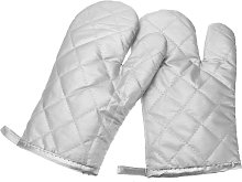 Kingso - Pair of Insulated Non-Slip Cooking Gloves