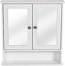 Kingso - Wood & Double Wall Cabinet Medicine