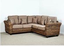 Kingston Abaca 216cm x 216cm Corner Sofa in Autumn