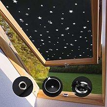 KINLO 96 * 93cm Blackout Roof Skylight Blind