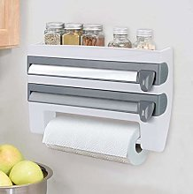 KINLO Wall Roll Holder No Drilling Kitchen Roll
