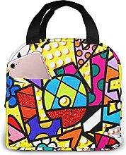 Kinsky Day Romero Britto Reusable Lunch Bag Lunch