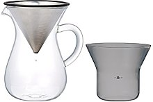 Kinto 300 ml Carafe Coffee Set with Stainless