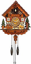Kintrot Cuckoo Clock Handcrafted Traditional Black