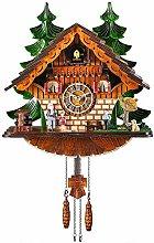 Kintrot Cuckoo Clock Traditional Chalet Black