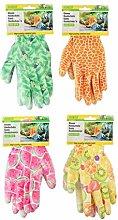 Kinzo Gardening Gloves Ladies Printed Medium