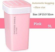 KIOU 9/12L Plastic Trash Can Automatic Change Bag