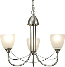 Kirkpatrick 3-Light Shaded Chandelier ClassicLiving