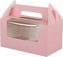 Kirmax 30Pcs Portable Cup Cake Box,Mousse