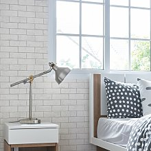 Kirsten Brick 10m x 52cm Wallpaper Roll East Urban