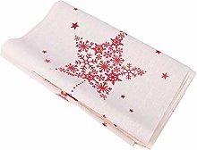 Kisangel Christmas Table Runner Tablecloth Hoilday