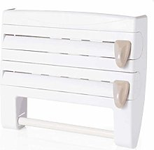 KISSFRIDAY Wall Mounted Kitchen Roll Dispenser