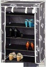 Kit Closet - Fabric Shoe Cupboard 5 baldas