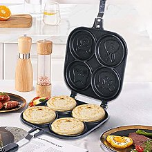 Kitabetty Egg Frying Pan, Multi Egg Frying Pan Egg