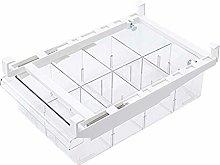 Kitabetty Fridge Storage Tray, Transparent