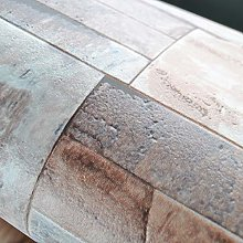 Kitchen 3D Effect Embossed Brick Stone Wallpaper