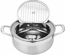 Kitchen Accessory Silver Stainless Steel Frying