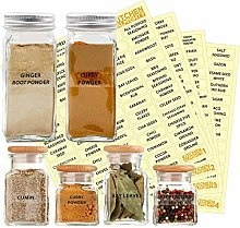 KITCHEN ALMIGHTY 271 Spice Labels: 242 Spice/Herb