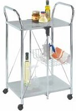 Kitchen and utility trolley Sunny silver - Wenko