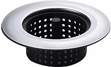 Kitchen Bathroom Sink Strainer, Stainless Steel