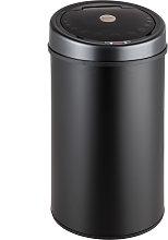 Kitchen bin with sensor - black, 50 L
