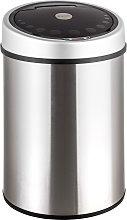 Kitchen bin with sensor - silver, 40 L