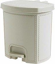 Kitchen bins Imitation Leather Trash Can Foot