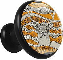 Kitchen Cabinet Knobs African Deer Wardrobe Knobs