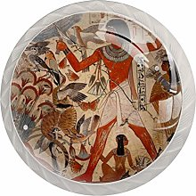 Kitchen Cabinet Knobs - Ancient Egypt Painting -