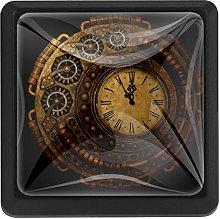 Kitchen Cabinet Knobs - Antique Clock - Knobs for