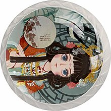 Kitchen Cabinet Knobs - Antique Girl - Knobs for