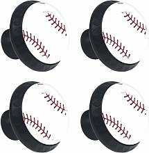 Kitchen Cabinet Knobs - Baseball - Knobs for