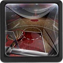 Kitchen Cabinet Knobs - Basketball Court Basket -