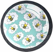 Kitchen Cabinet Knobs - Bees - Knobs for Dresser