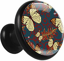 Kitchen Cabinet Knobs Butterfly Wardrobe Knobs